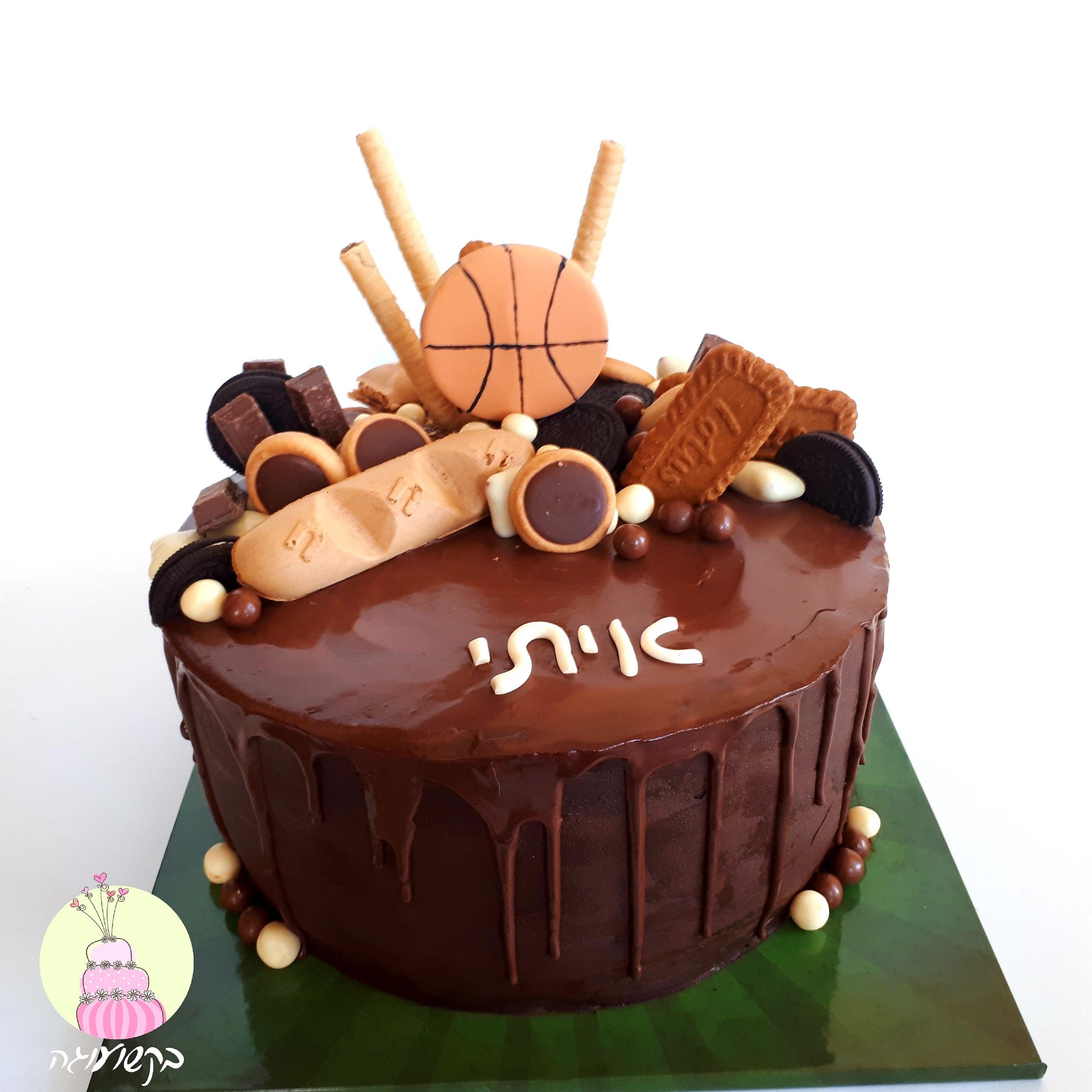 עוגת דריפינג כדורסל