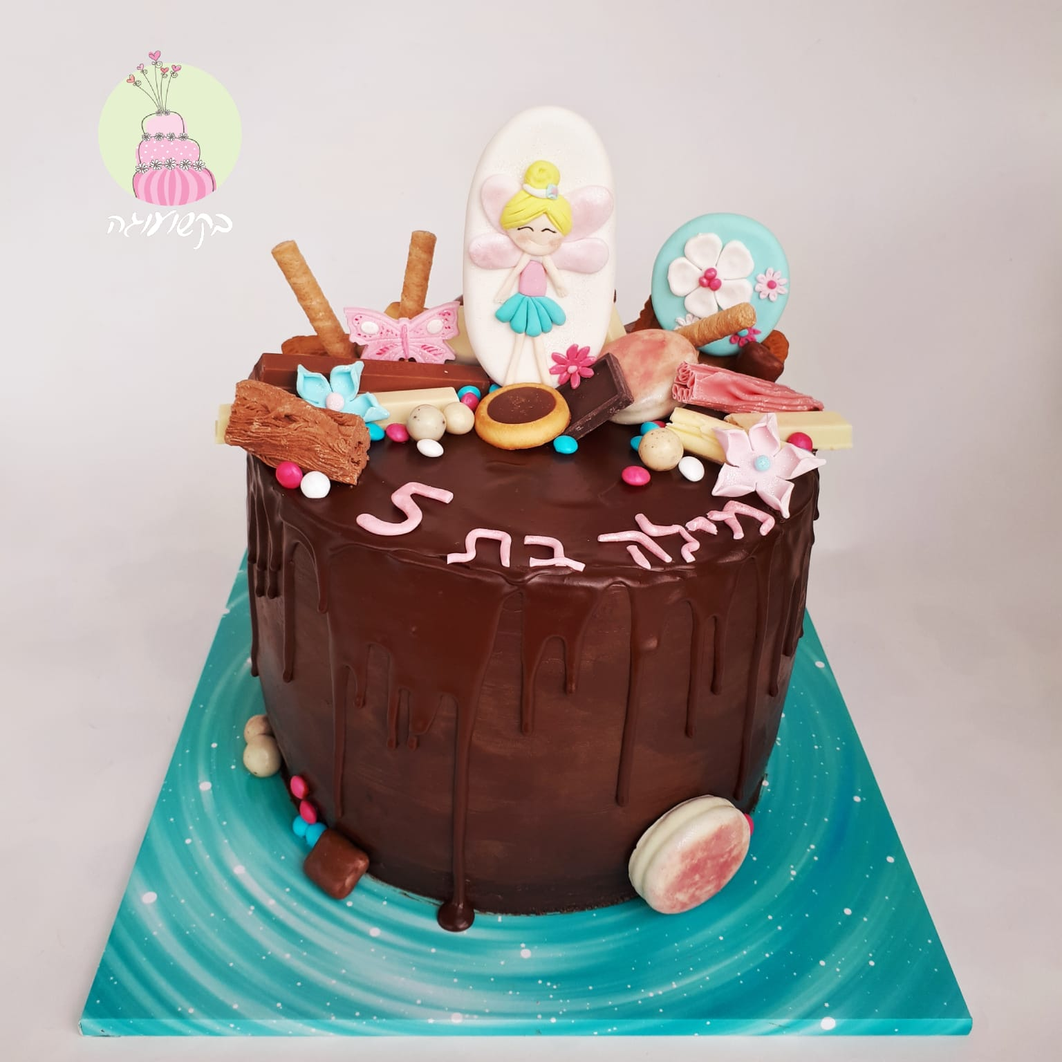 עוגת דריפינג פיות