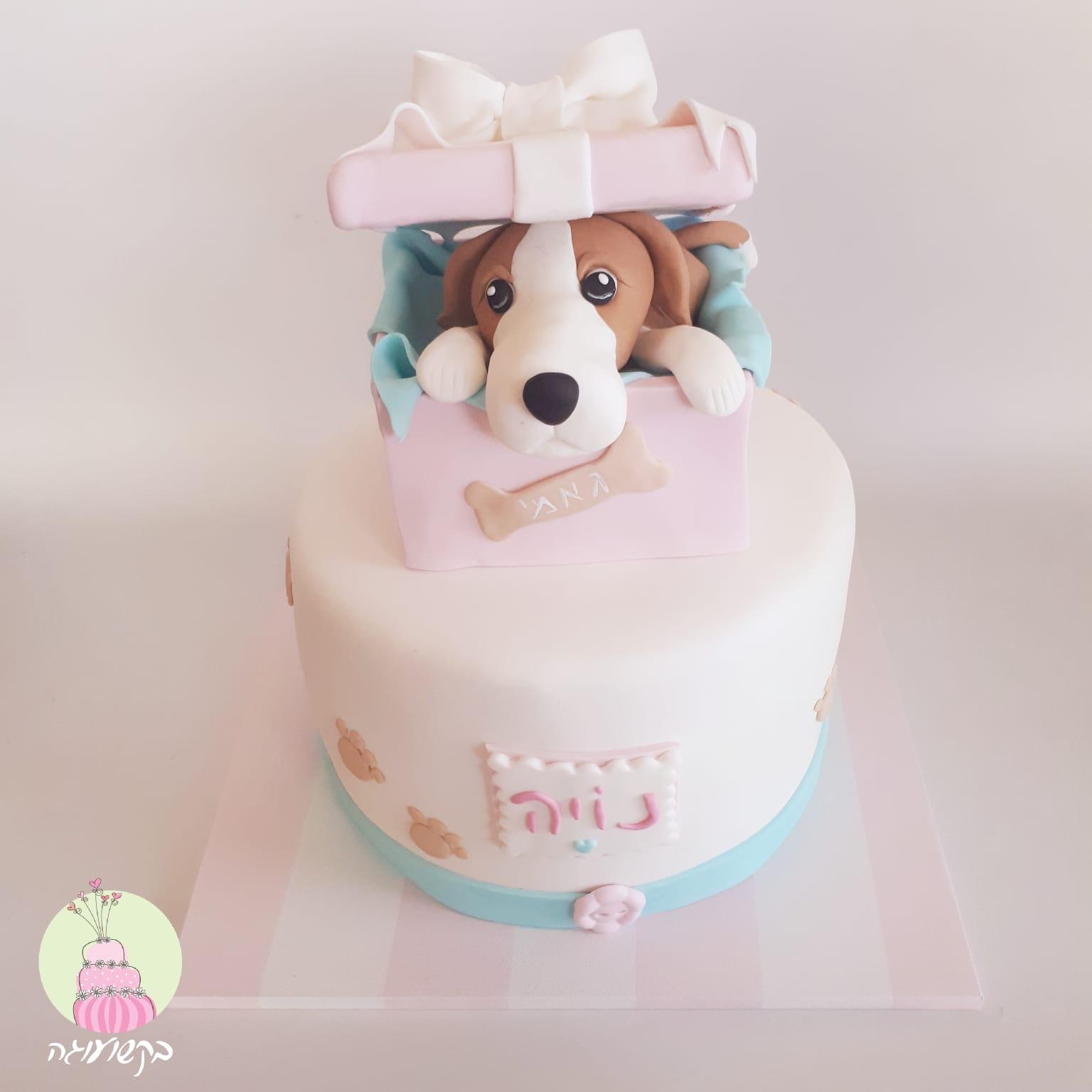 עוגת כלב במתנה